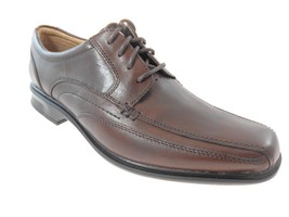 Clarks Verro Real 62118 Men's Brown Oxford Shoes Size 7, 9 - $79.99