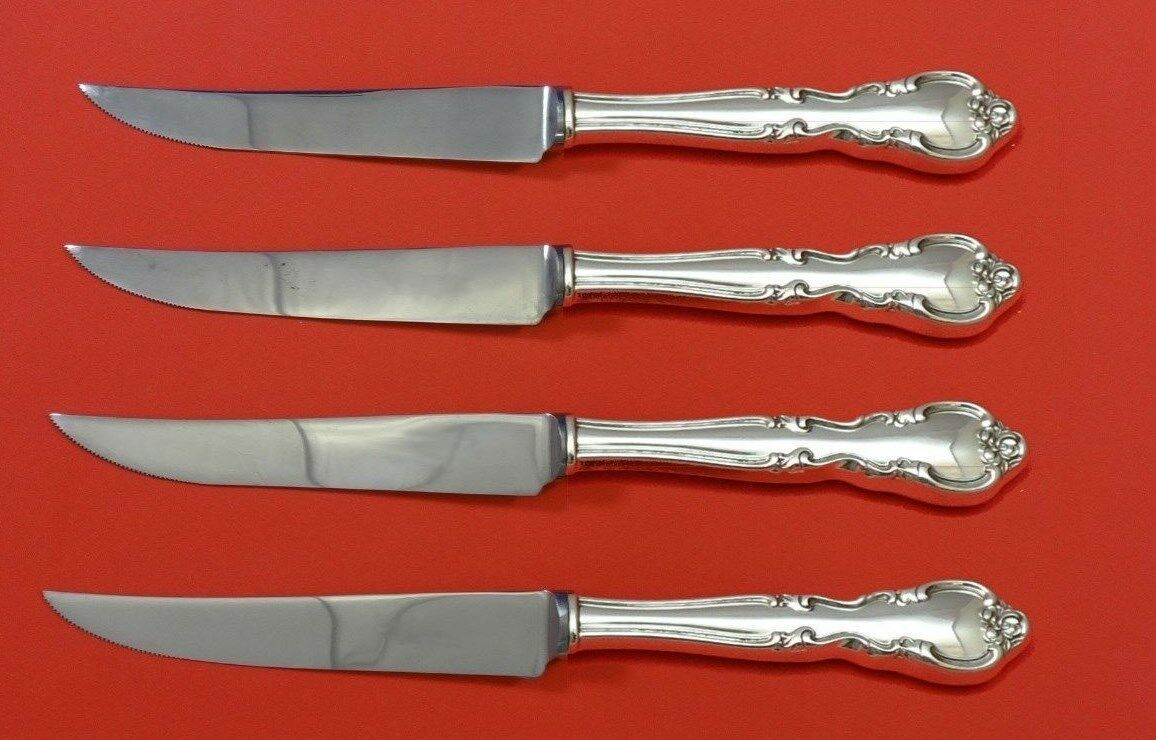 American Classic by Easterling Sterling Silver Steak Knife Set 4pc Custom