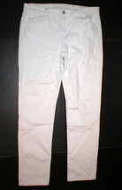 Womens New Designer Joes Denim Jeans 30 White Straight Ankle Pennie - $98.55