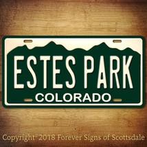 Estes Park Colorado City State College Aluminum Vanity License Plate - $12.82
