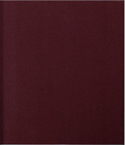 6.5 yds HBF Upholstery Fabric Mid Century Modern Satin Drape Wool Mahogany BW7