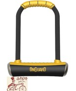 "ONGUARD PITBULL 4.5 X 9""  U-LOCK WITH BRACKET - $54.40"