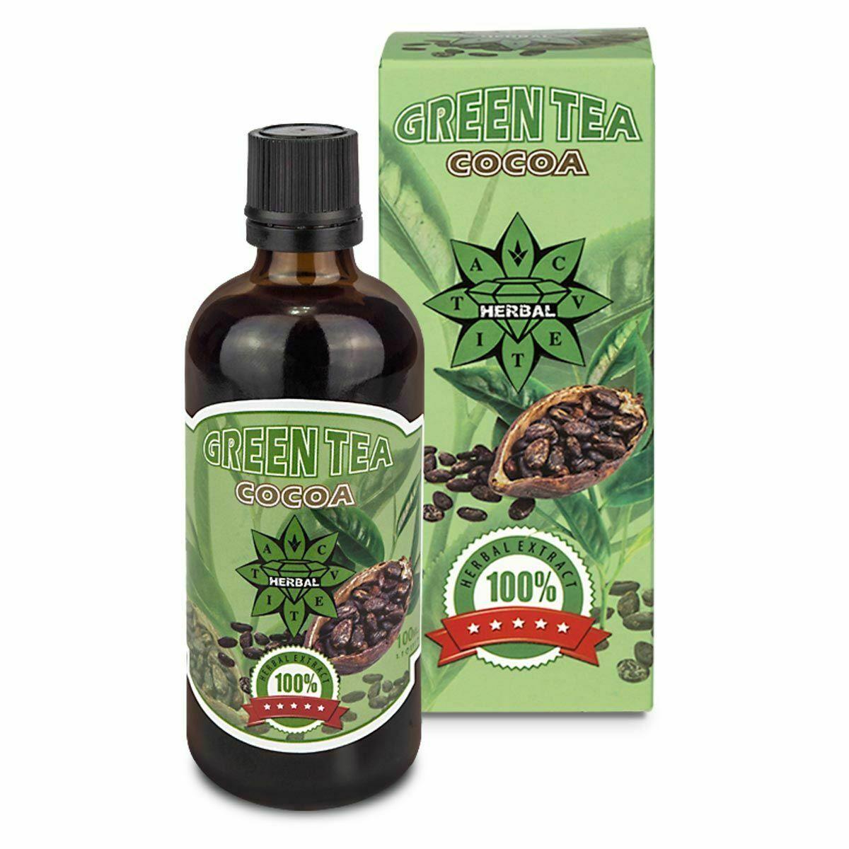 Green Tea Liquid   Cocoa   Tribulus Terrestris 120