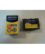 Standard Digital Video Battery JVC Lithium Black OEM Quality BN-V607 - $16.47