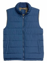 Gap Mens Night Blue Full Zip Warmest Puffer Vest Jacket Coat XL X-Large 7606-5M - $42.07