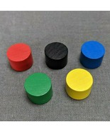 Ticket To Ride Board Game 20012 All 5 Wooden Scoring Marker Replacement ... - $5.90