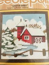 Jiffy  Needlepoint Kit SUNSET DESIGNS Choice Spring Winter Barn Summer M... - $15.99