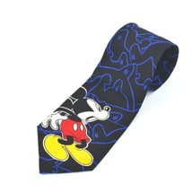 Mickey & Co By Balancine Mickey Mouse And Ghosts Silk Tie Necktie - $12.48