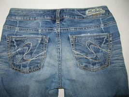 Silver Jeans Aiko Bootcut Size 28 X 33 Lightly Distressed By Buckle BKE - $16.95