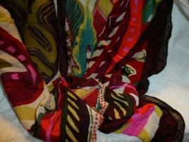 Vera Bradley soft Fringe Scarf in Heirloom Paisley - $29.00
