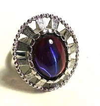 VINTAGE SIGNED WHITING & DAVIS COLOR CHANGE DRAGONS BREATH JELLY OPAL GL... - $75.00