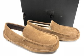 Ugg Australia Alder Chestnut Sude Moccasins Slippers Shoes Loafers 1003419 Men's - $69.99