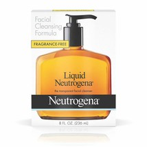 Liquid Neutrogena Fragrance-Free Facial Cleanser with Glycerin, Hypoallergenic & - $8.14