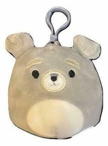 "Squishmallow Kellytoy 3.5 Inch Dog Clip On Keychain (3.5"" Shaun The Schn... - $8.45"