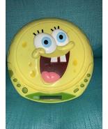 Vintage Nickelodeon Spongebob SquarePants Personal cd Player 2006 NOT TE... - $10.79