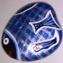 Magnet Fish (Blue & Black)