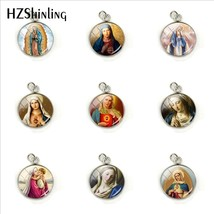 2019 New Vintage Virgin Mary Jewelry Pendants Our Lady of Guadalupe Jewe... - $7.54