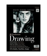 Drawing Paper Pad 14 x 17 Notebook 24 Sheet 80 lb Artist Sketch School S... - $11.67