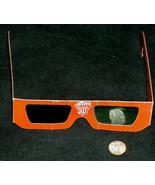 1987 Coke Coca-Cola Nuoptix 3-D Glasses Official Soft Drink of Summer - $8.89