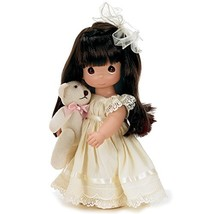 The Doll Maker Precious Moments Dolls, Linda Rick, Cherish Me Always Bru... - $41.11