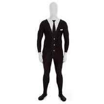 Combinaison Moulante Adulte Slenderman Monster Halloween Costume de Luxe... - £45.22 GBP