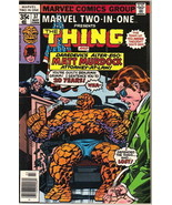 Marvel Two-In-One Comic Book #37 The Thing and Matt Murdock Marvel 1978 ... - $4.75