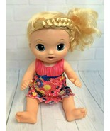 Baby Alive Soft Face Check Up Doll Talks Laughs Eyes Close 2016 Hasbro - $28.04