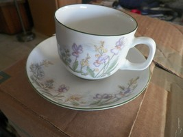 Eschenbach Danmarks Floral cup and saucer 1 available - $3.71