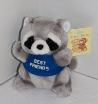 "Luv Pets Russ Berrie RACCOON 6"" Best Friends Stuffed Animal 185 Plush So... - $18.35"