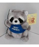 "Luv Pets Russ Berrie RACCOON 6"" Best Friends Stuffed Animal 185 Plush So... - $18.35"