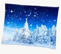 """Soft & Cozy Digital Print Plush Throw, Size 50""""W x 60""""L - $19.79"""