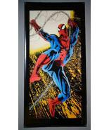 GIANT-SIZE 1995 Amazing Spider-man 5 x 2 1/2 FT Marvel Comics DOOR POSTE... - $148.49