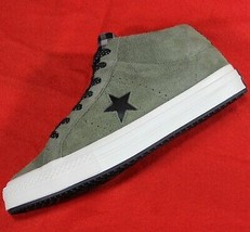 CONVERSE One Star Mid Counter Climate SAMPLE Green Suede Shoes [161573C] Men's 9 - $88.88