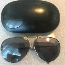 Porsche Design Sunglasses with Gold Frame Case Used - $211.85