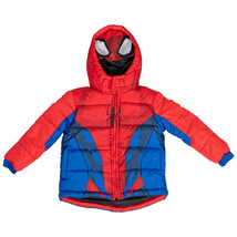 Spider-Man Costume Puffy Kids Jacket Multi-Color - $44.98