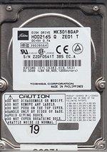 MK3018GAP, HDD2165 Q ZE01 T, Toshiba 30GB IDE 2.5 Hard Drive