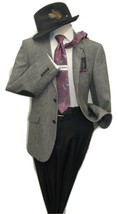 Mens Us  Polo  Assn  Wool Blend Sport coat Salt pepper Classic 6027 blac... - $75.00