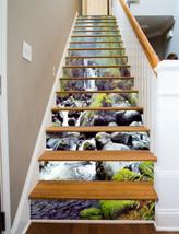 3D Gesträuch Strom Stair Risers Dekoration Fototapete Vinyl Aufkleber Tapete DE - $85.64+