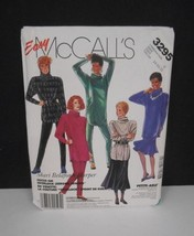 Vintage 1987~Easy McCall's #3295~Sz 14-18~Skirt/Pants/Cowl Neck Tunic~Pa... - $5.95