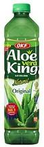 OKF Aloe Vera King Drink, Original, 1.5 Liter Pack of 12