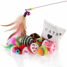 Purr Paw Cat Toys Kitten Variety Selection Pack 10 pcs Including Mice, B... - £17.58 GBP