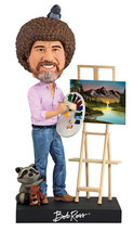 Bob Ross The Joy of Painting 8 inch Tall Polyresin Bobblehead Figure NEW... - €21,22 EUR
