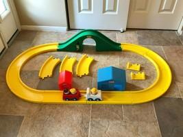 Little Tikes Creative Roadway Vintage Playset Tracks Vehicle Toddle Tots Figures - $99.99