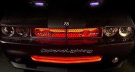 "Octane Lighting 4 12"" Red Car Truck Rv Grill Hood 15 Led Under Glow Waterproof L - $14.80"