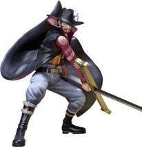 New Figuarts Zero One Piece Dracule Mihawk Battle Ver Pvc Figure Bandai F/S - $76.48