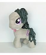 My Little Pony Plush  13 Inch Octavia Music Treble Clef Gray 2013 Hasbro - $9.99