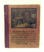 Rare 1920's Pearson - Page Co Birmingham & London, England Catalog Brass - $99.99