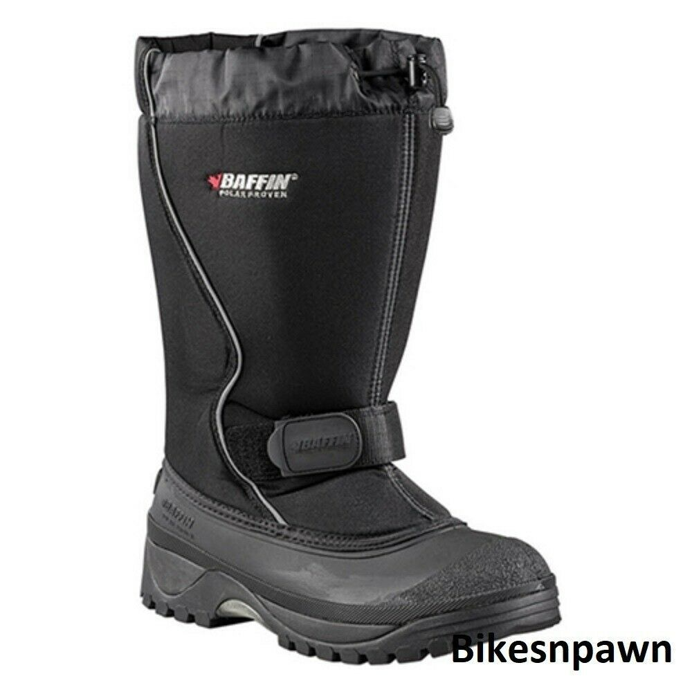 New Mens Size 10 Baffin Tundra Snowmobile Winter Snow Boots Rated -40 F