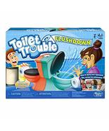 Hasbro Gaming Toilet Trouble Flushdown Kids Game Water Spray Ages 4+ - $22.78