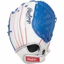 "Rawlings Players Series Youth Tball/Baseball Gloves 11"" RHT White/Royal - $20.55"